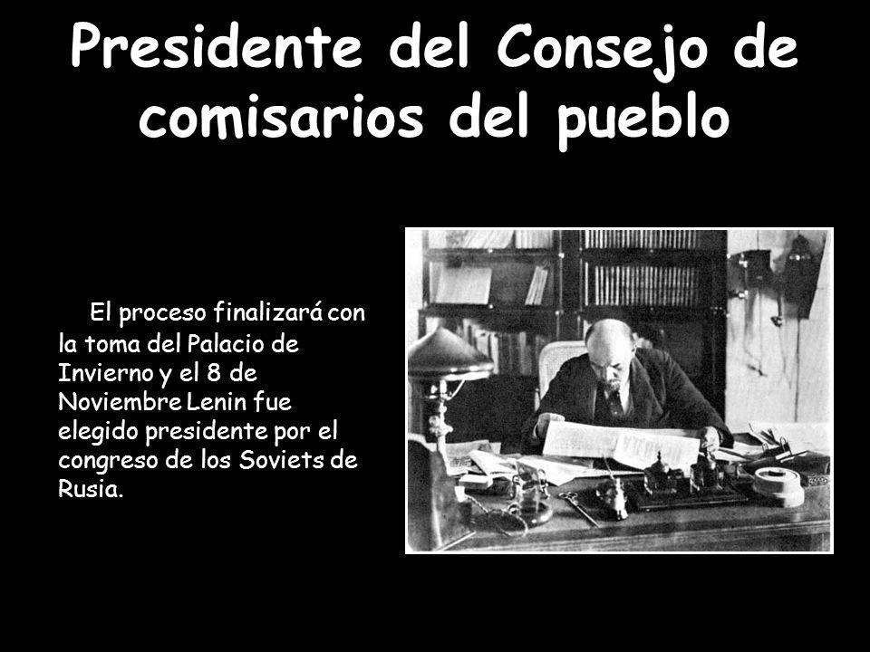 Presidente del Consejo de comisarios del pueblo