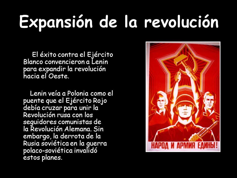 Expansión de la revolución