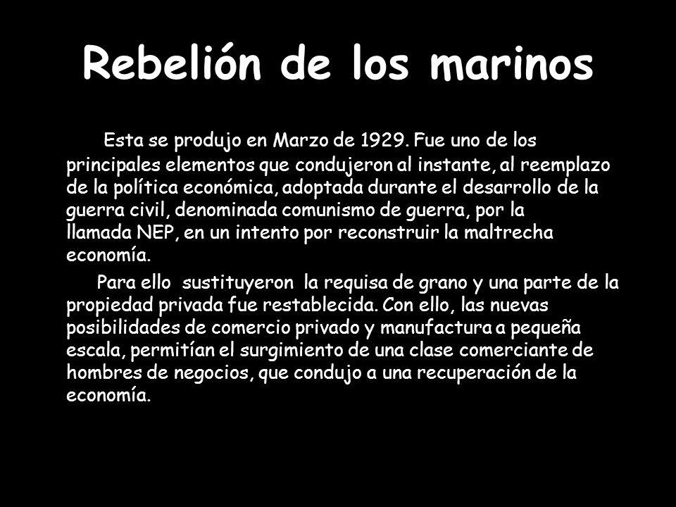 Rebelión de los marinos