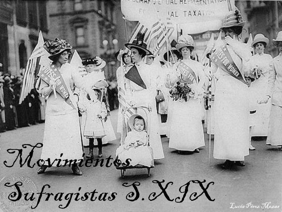 Movimientos Sufragistas S.XIX