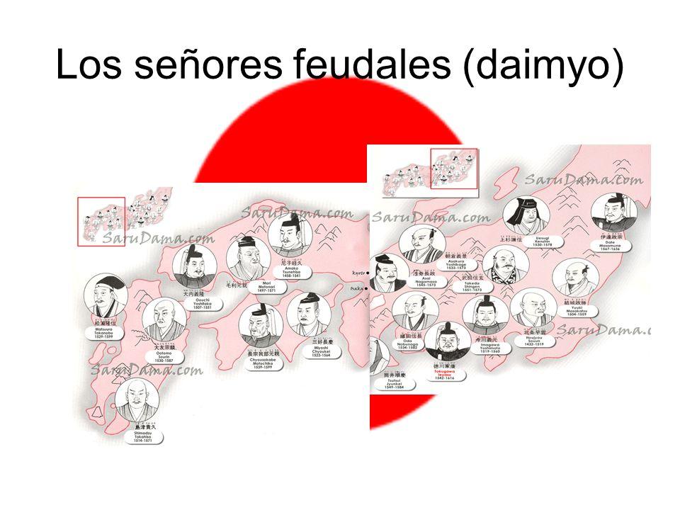 Los señores feudales (daimyo)