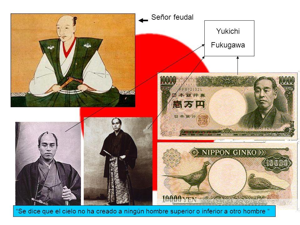 Señor feudal Yukichi Fukugawa