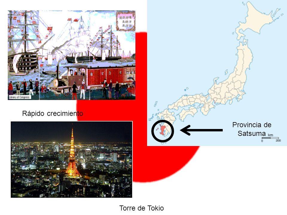Rápido crecimiento Provincia de Satsuma Torre de Tokio