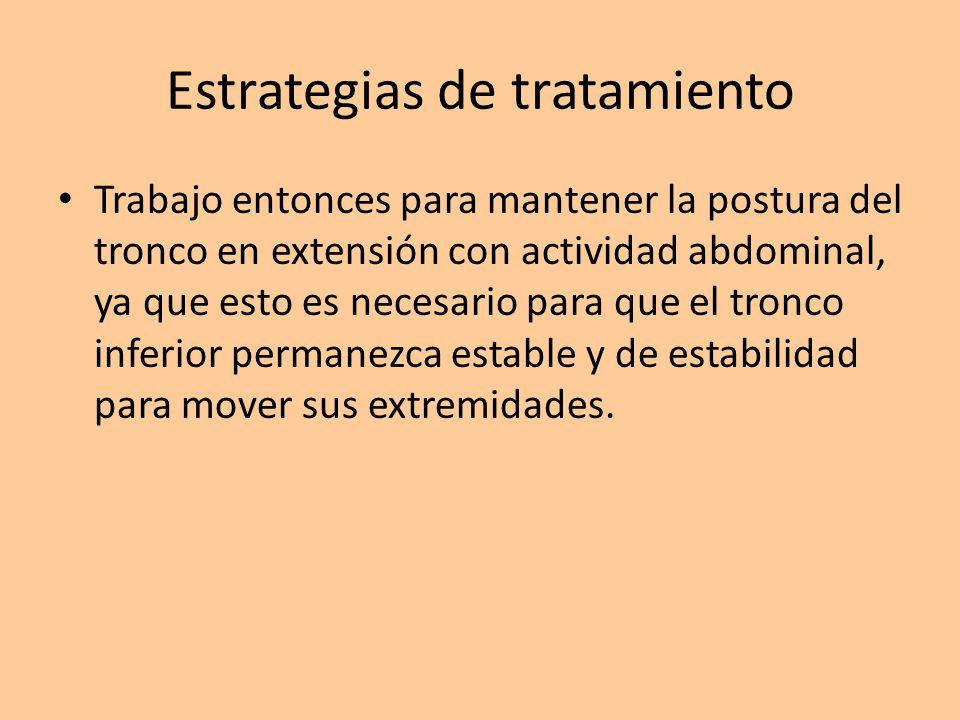Estrategias de tratamiento