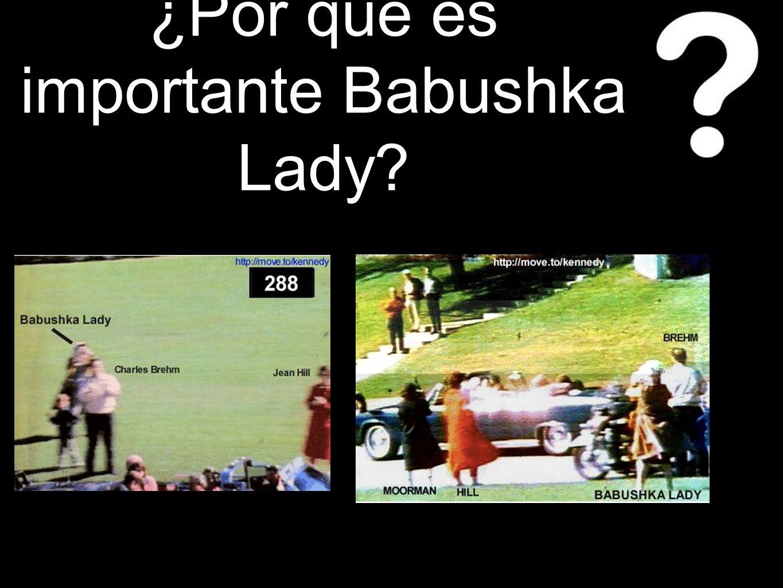 ¿Por qué es importante Babushka Lady