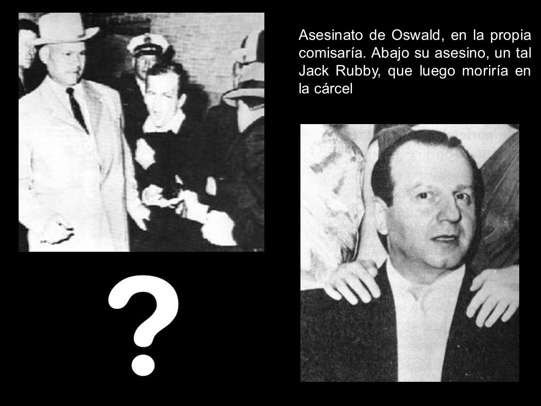 Asesinato de Oswald, en la propia comisaría