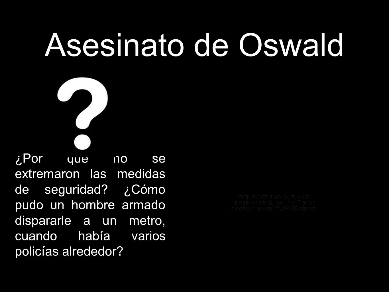 Asesinato de Oswald