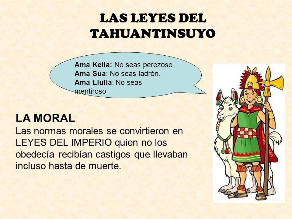 LAS LEYES DEL TAHUANTINSUYO