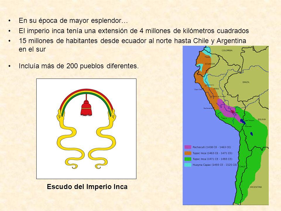 Escudo del Imperio Inca