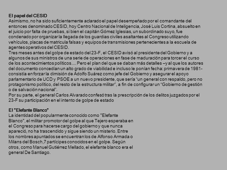 El papel del CESID