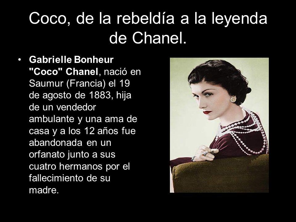Coco, de la rebeldía a la leyenda de Chanel.