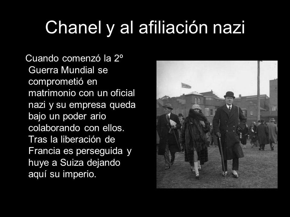 Chanel y al afiliación nazi