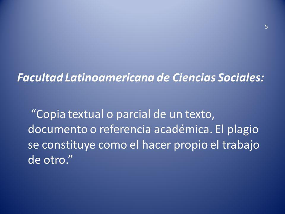 Facultad Latinoamericana de Ciencias Sociales: