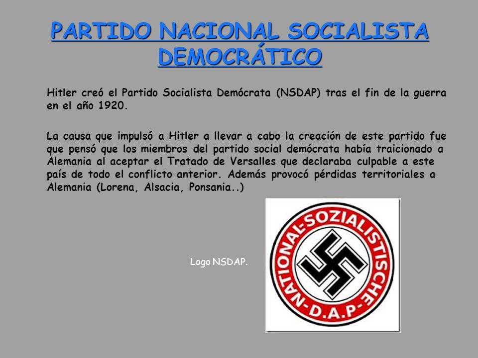PARTIDO NACIONAL SOCIALISTA DEMOCRÁTICO