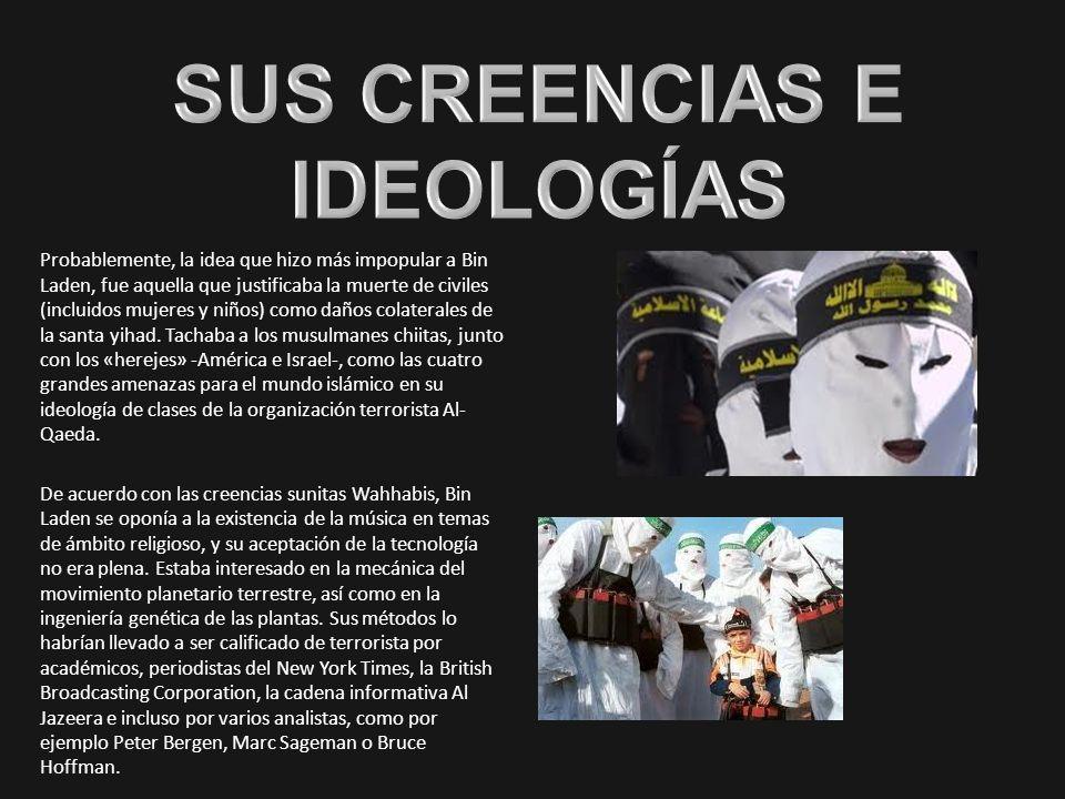 SUS CREENCIAS E IDEOLOGÍAS