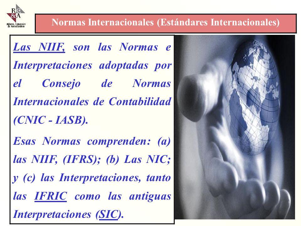Normas Internacionales (Estándares Internacionales)