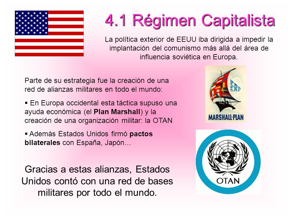 4.1 Régimen Capitalista