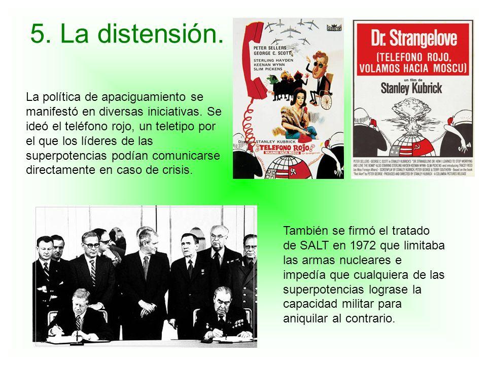 5. La distensión.