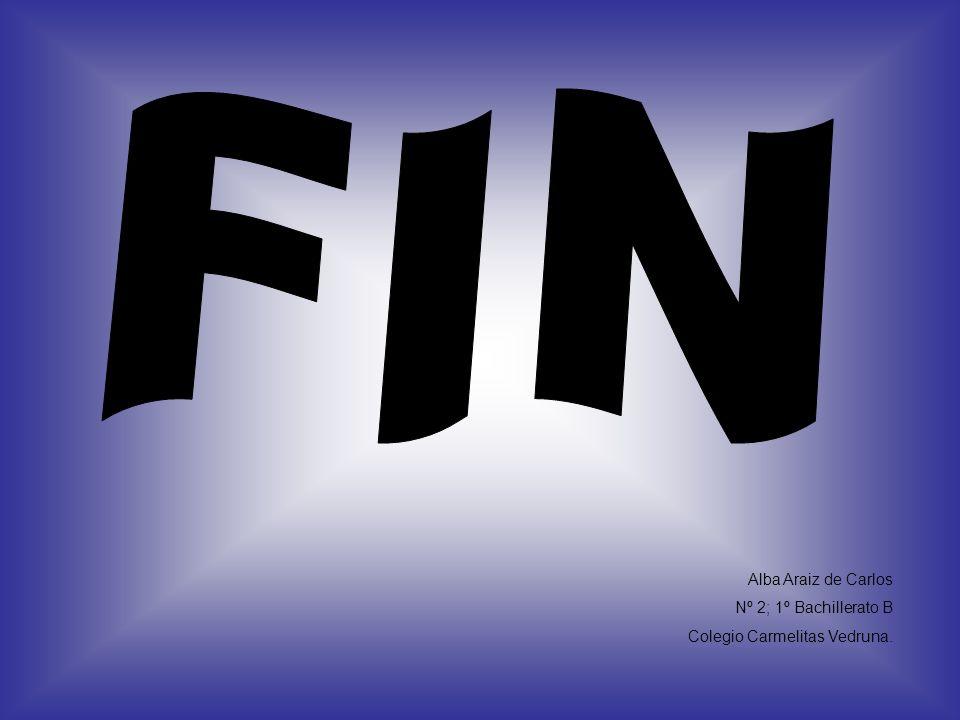 FIN Alba Araiz de Carlos Nº 2; 1º Bachillerato B