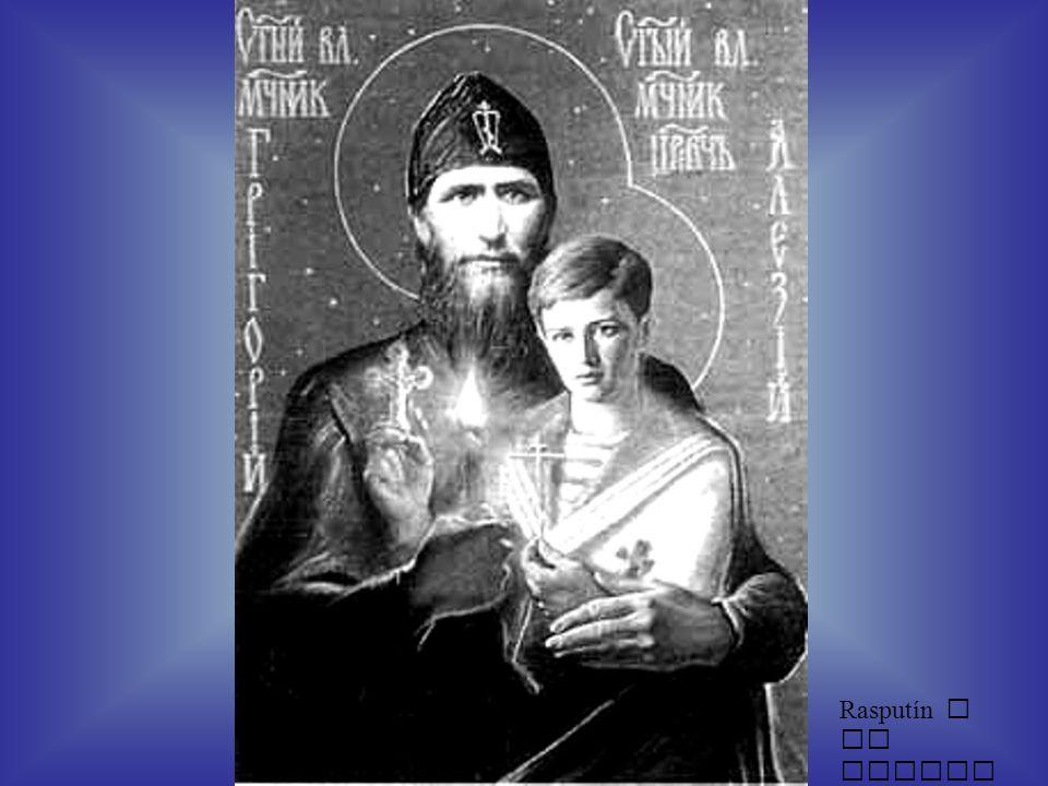 Rasputín y el zarevich
