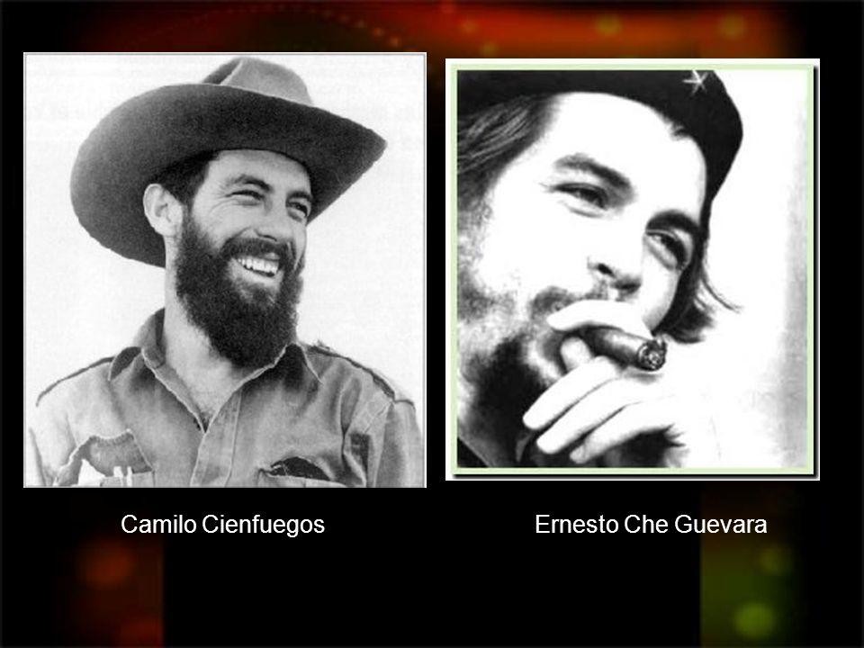 Camilo Cienfuegos Ernesto Che Guevara