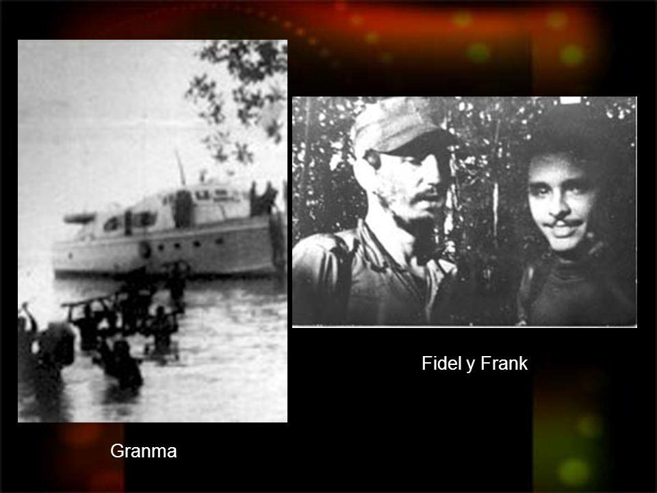 Fidel y Frank Granma