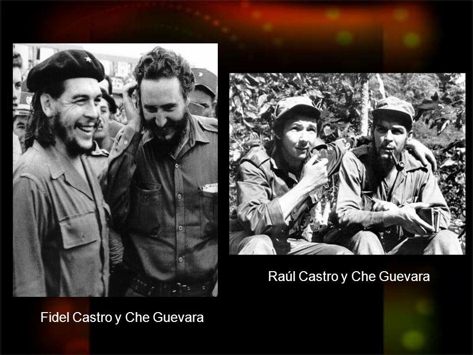 Raúl Castro y Che Guevara