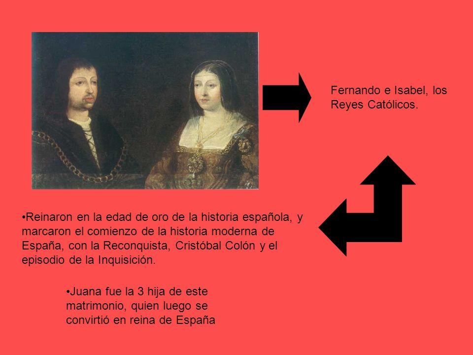 Fernando e Isabel, los Reyes Católicos.