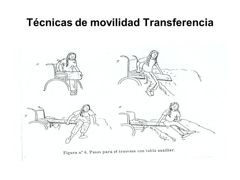 Técnicas de movilidad Transferencia