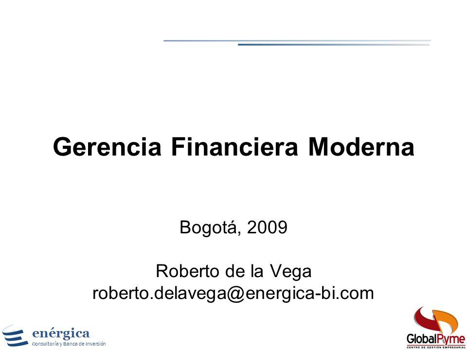 Gerencia Financiera Moderna