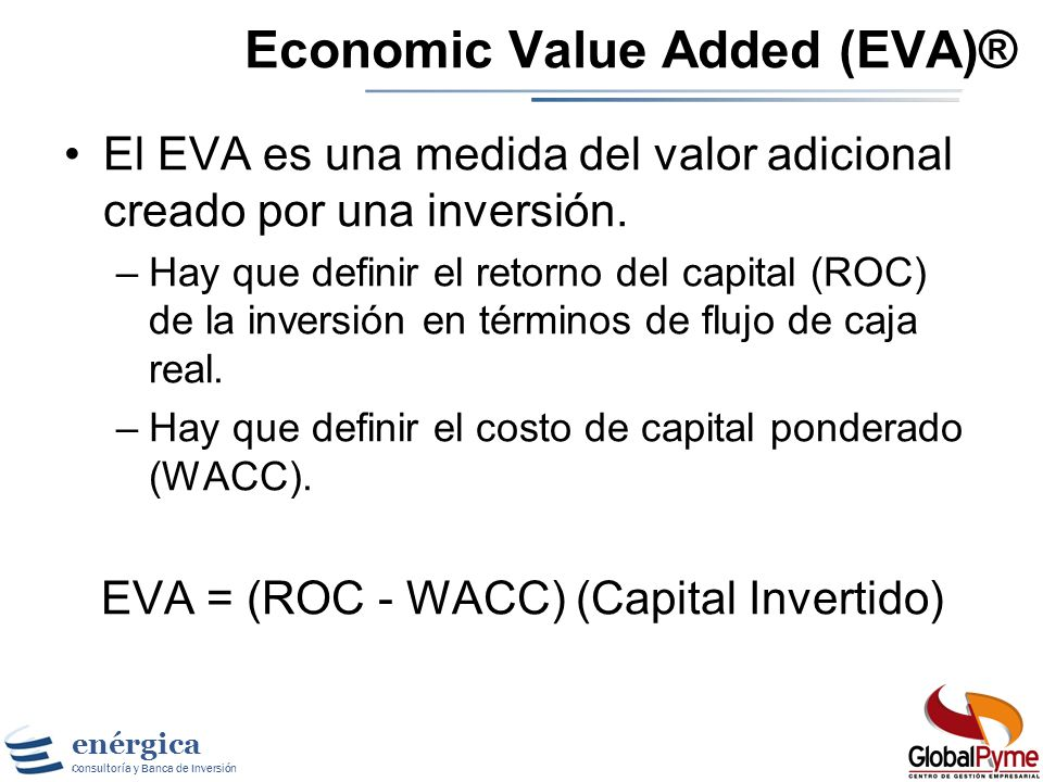 Economic Value Added (EVA)®