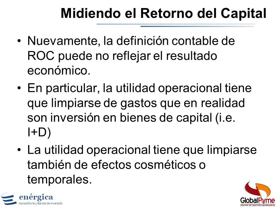Midiendo el Retorno del Capital