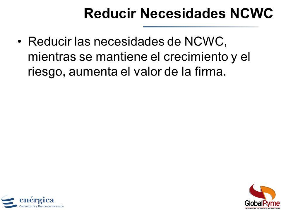 Reducir Necesidades NCWC