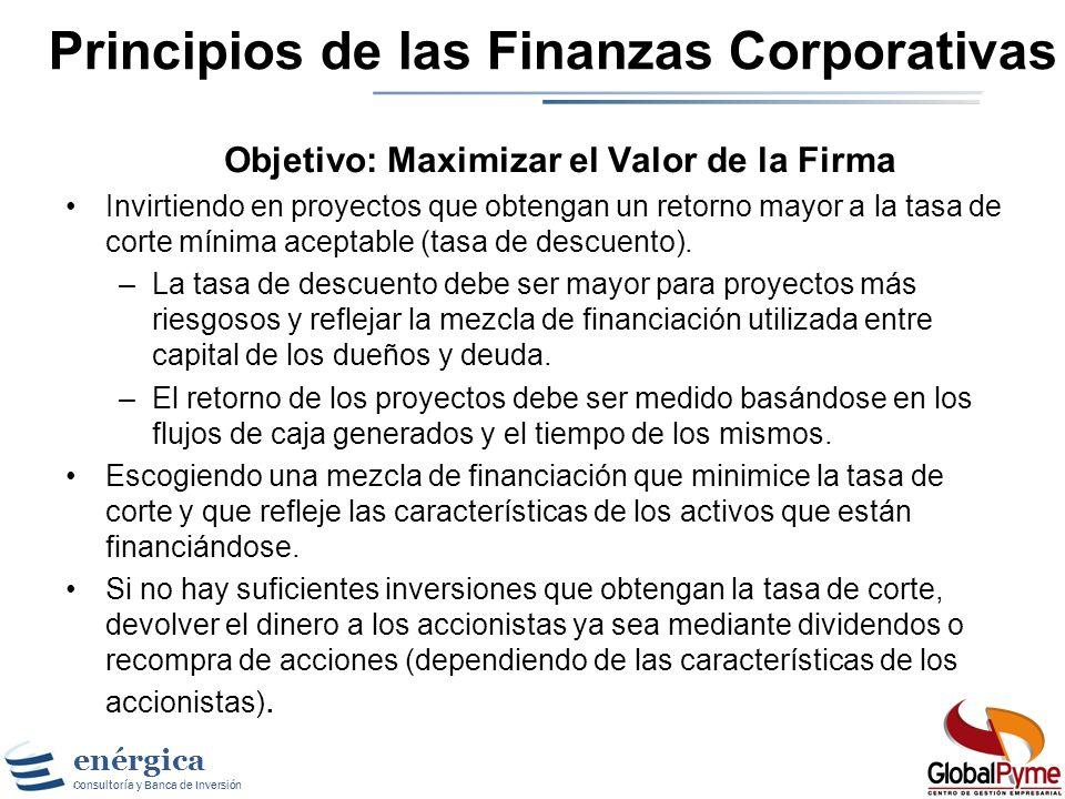 Principios de las Finanzas Corporativas