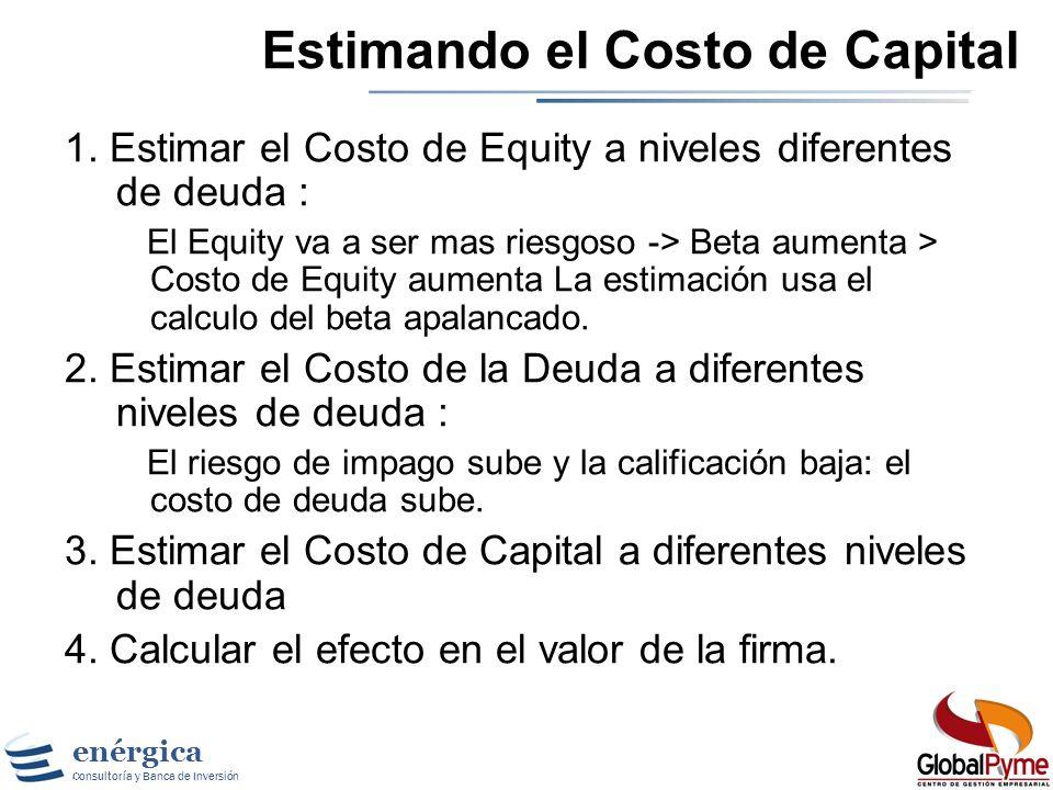 Estimando el Costo de Capital