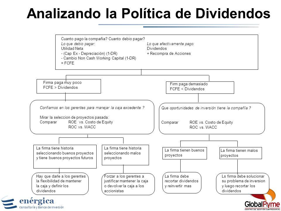 Analizando la Política de Dividendos
