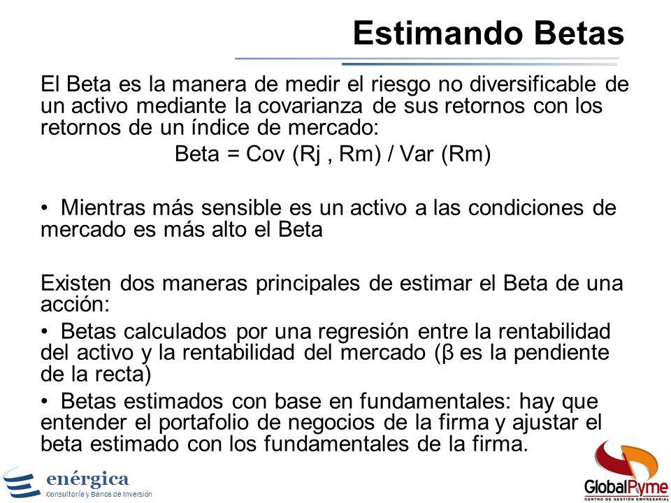 Estimando Betas
