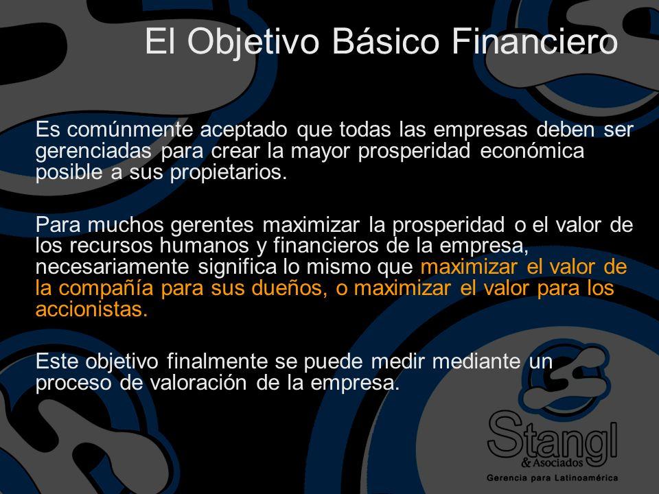 El Objetivo Básico Financiero