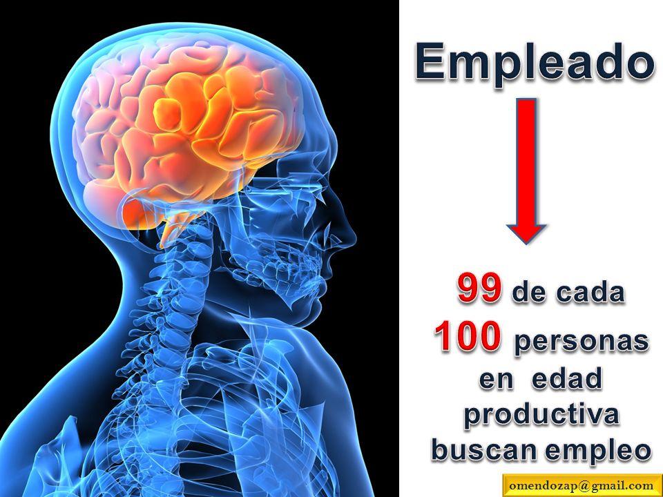 99 de cada 100 personas en edad productiva buscan empleo