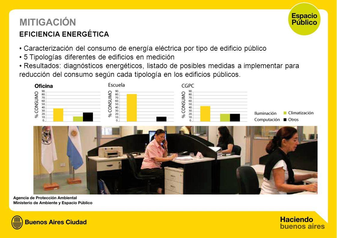 MITIGACIÓN EFICIENCIA ENERGÉTICA