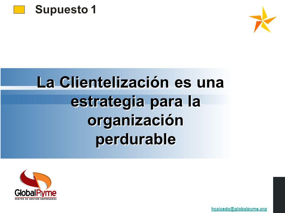 La Clientelización es una estrategia para la organización perdurable
