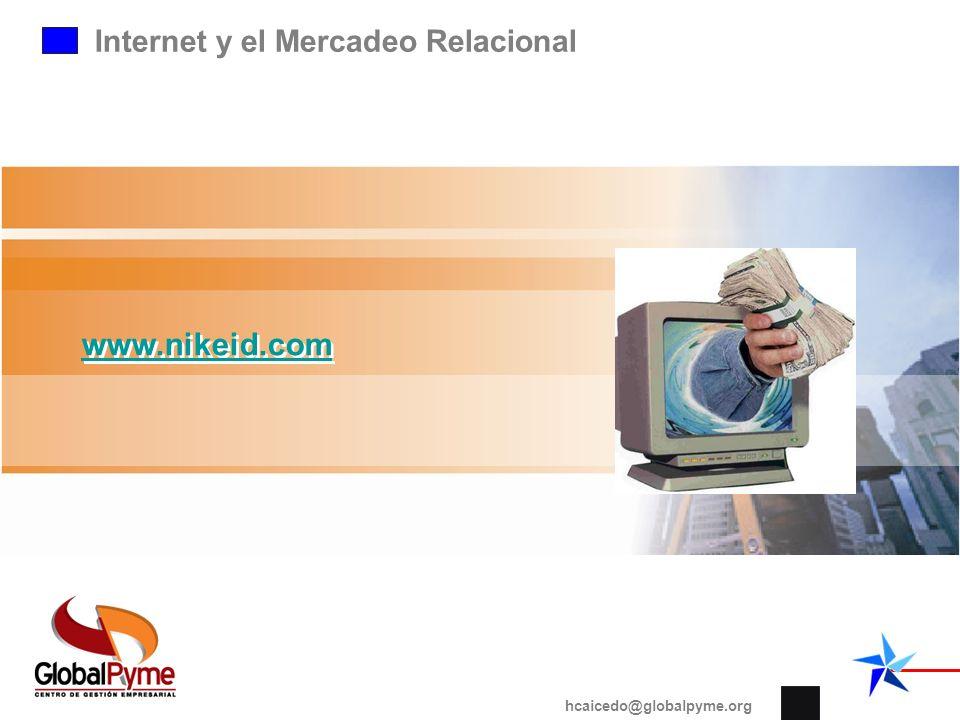 www.nikeid.com Internet y el Mercadeo Relacional