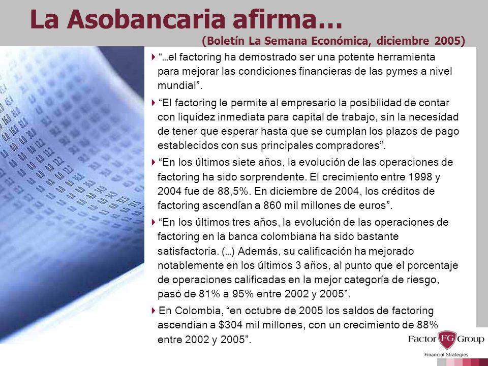 La Asobancaria afirma… (Boletín La Semana Económica, diciembre 2005)