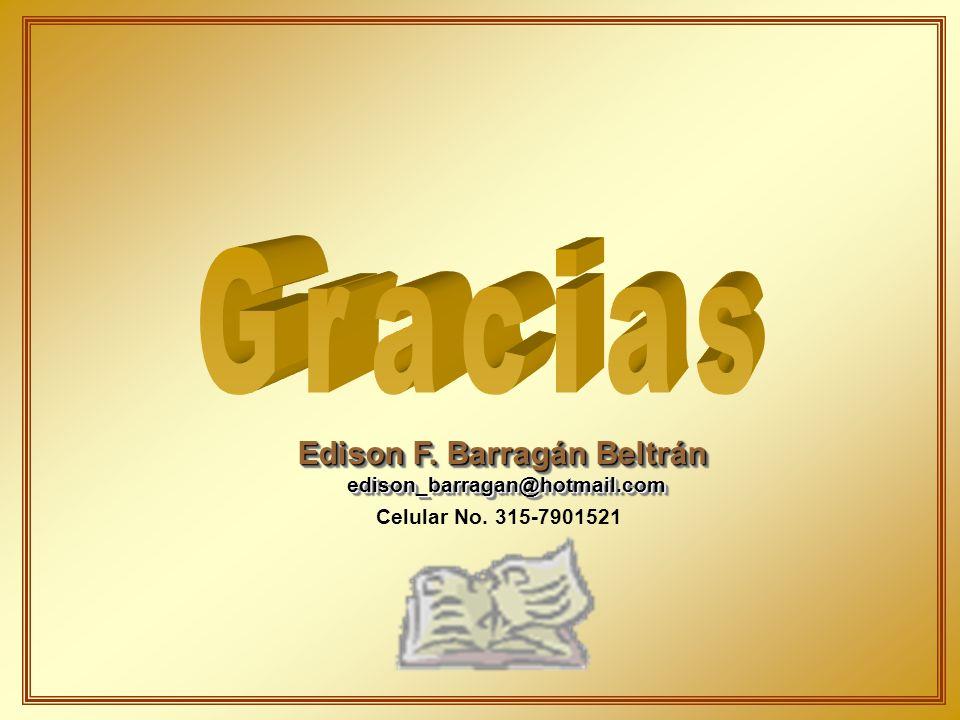 Edison F. Barragán Beltrán