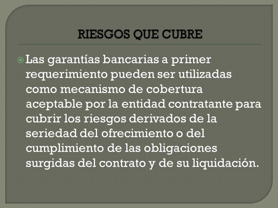 RIESGOS QUE CUBRE