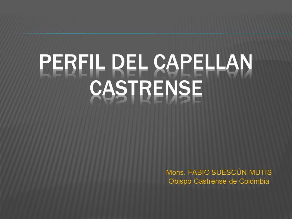 PERFIL DEL CAPELLAN CASTRENSE