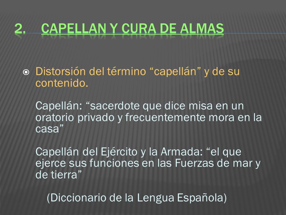 2. CAPELLAN Y CURA DE ALMAS