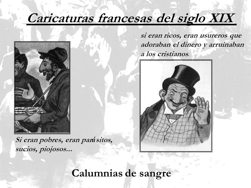 Caricaturas francesas del siglo XIX