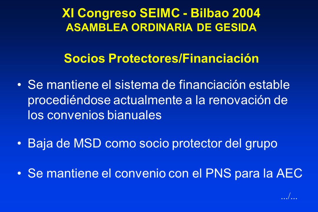 Baja de MSD como socio protector del grupo