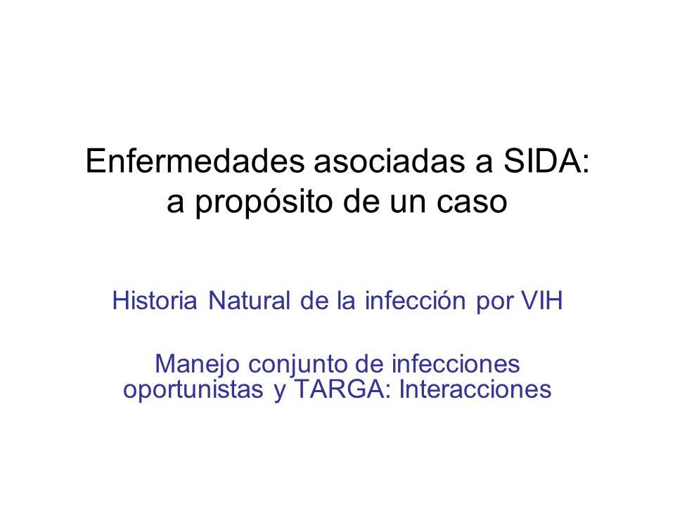 Enfermedades asociadas a SIDA: a propósito de un caso